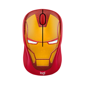 Logitech Wireless Mouse M238 Marvel Collecion Iron Man
