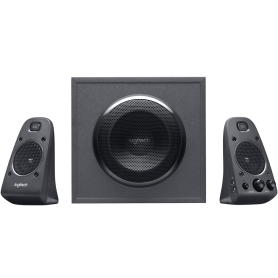 Logitech Z625 Speaker System With Subwoofer And Otical Input